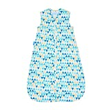 GRO AAA 5325Capri Zig Zag Travel Sacos de dormir grobag, 1.0tog, 18–36meses, color azul