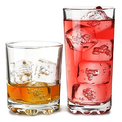 ravenhead-12-piece-essential-glassware-hobnobs-drinking-glass-set-clear