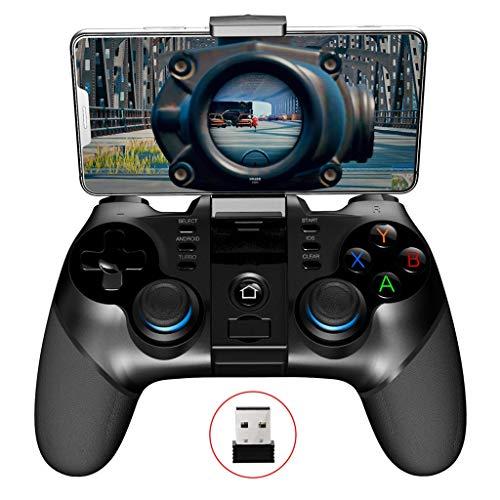 Spielekonsole, Controller, PC, kabellos, Bluetooth, 2,4 g, stimuliert das Schlachtfeld für ein Hühner-Artefakt für Android Ios (86 Zugstange)