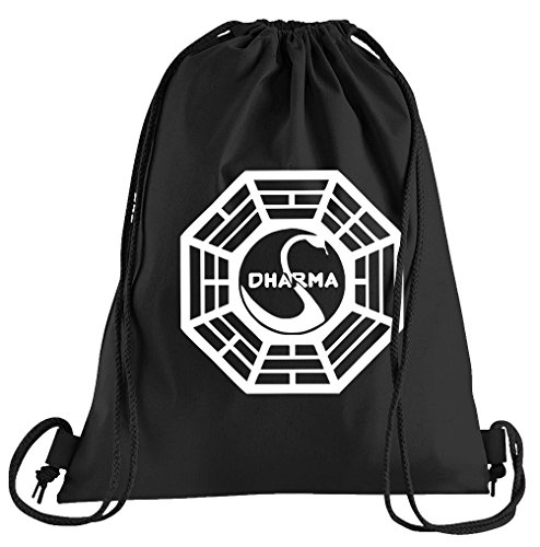 Touchlines Dharma Symbolic Sportbeutel – Bedruckter Turnbeutel mit Kordeln