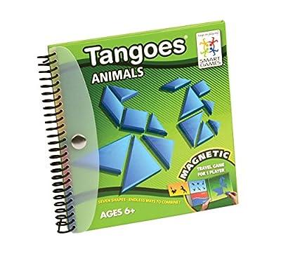 Smartgames - SGT 121-8 - TANGOES Animals - Jeu de Tangram