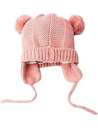 ODJOY-FAN-bambino maglieria Tenere caldo Tappo per capelli berretto di  copertura- Bambino carino inverno neonato… daa816861d25