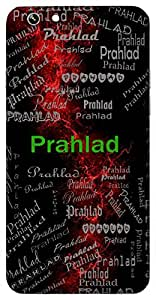 Prahlad (Extreme Joy, Son Of Hiranyakashyap) Name & Sign Printed All over customize & Personalized!! Protective back cover for your Smart Phone : SONY M-2