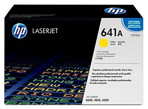 HP 641A (C9722A) Gelb Original Toner für HP Color Laserjet 4600, HP Color Laserjet 4650 -