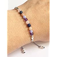 KARMA GEMS Weight Loss Healing Balance Reki Bracelet - Adjustable