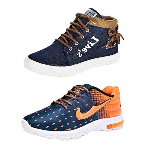 Aircum Men's Sport Shoes Combo