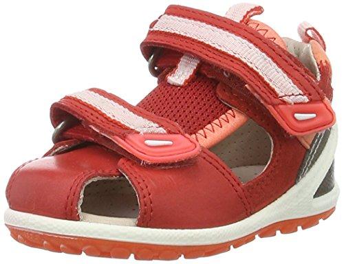 Ecco Baby Mädchen Lite Infants Sandal, Rot (50291TOMATO/Coral), 22 EU