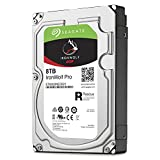 Seagate IronWolf Pro 8 TB 3.5 Inch Internal Hard Drive for 1-16 Bay NAS Systems (7200 RPM, 256 MB Cache, Up to 214 MB/s, 300 TB/Year Workload Rate)