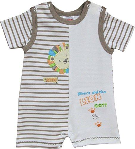 Schnizler Set Interlock Löwe 2 tlg. mit T-Shirt-Tuta intera Unisex - Bimbi 0-24    Beige (original 900) 9 mesi