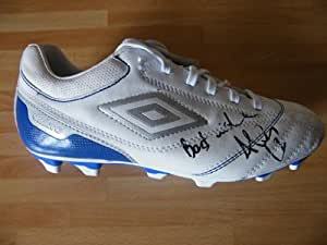 Sportagraphs Adam Le Fondre Genuine Hand Signed Autograph Signature Reading Football Boot COA