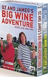 Oz and James's Big Wine Adventure: Complete BBC Series 1 & 2 Box Set [DVD]