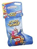 È arrivata la nuova calza Super Wings! All'interno troverai sempre il set avventura (con binocolo, torcia e bussola), un personaggio morbido (Jett o Donnie) e la cartelletta con tante attività per giocare e imparare divertendoti. Età 3+ ...