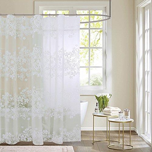 Rideau de douche de haute qualité --- Rideau de douche de salle de bains \ rideau de douche épaississant imperméable \ rideau de douche de moisissure \ Rideaux de salle de bain \ cloison rideaux de douche \ PEVA rideaux de douche (taille facultative) --- Rideau de douche pour salle de bain étanche ( taille : 150*180cm )