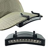 XQxiqi689sy 11-LED cap Hat Brim Clip Faro Luce Esterna Campeggio Escursionismo Torcia Faro
