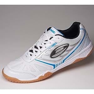 chaussure Donic Waldner Flex III, options d' 33, blanc / bleu