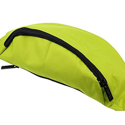 Praktische Hüfttasche Bauchtasche für Geld, Schlüssel und Handys usw. Sporttasche Grün