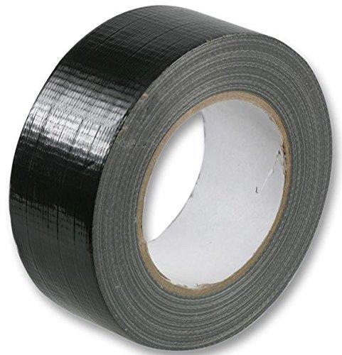 Gafferband/Klebeband, 48 mm x 50 m, 1 Rolle, Schwarz