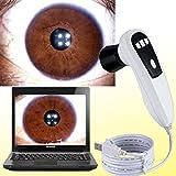 CareforYou nueva 5.0 MP 5 Mega píxeles USB iriscope 4 LED/2 LED analizador de la alternancia Iris 30 x lente Iridología cámara con Pro Software de análisis de Iris