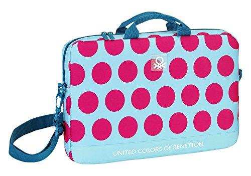 safta-benetton-dots-trolley-para-portatil-7-l-color-fucsia-y-azul