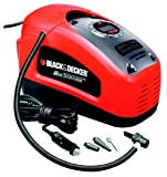 Black + Decker Akkukompressor ASI300, 11 bar / 160 psi, digitale Druckeinstellung