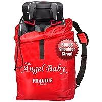 Borsa Copri Sedile da Viaggio Angel Baby- DOPPIO RINFORZO DUREVOLE Poliestere con Cinghia da Spalla, Resistente all'acqua – Ideale per i Gate degli Aeroporti e per l'Immagazzinamento