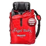 Kinder Autositz Transporttasche & Reisetasche aus Schultergurt Wasserdicht+Leicht+Kordelzug+Tragegriff