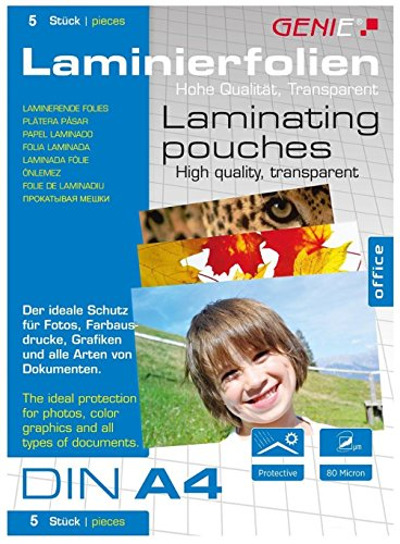 Genie A4 Laminator F9011 Hot and Cold Lamination up to 100 Micron