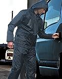 Weatherguard Regen-Anzug, Farbe:Black;Größe:L L,Black