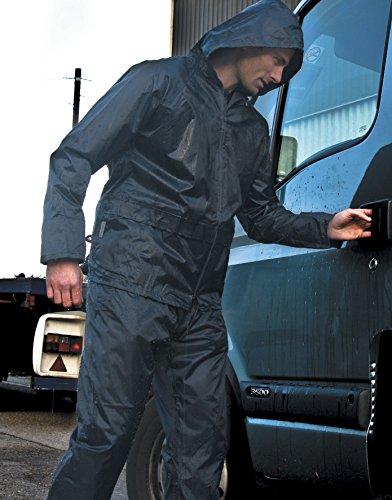 Weatherguard Regen-Anzug, Farbe:Black;Größe:XL XL,Black