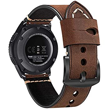 FINTIE Bracelet pour Samsung Galaxy Watch 46mm/ Gear S3 Frontier/ Classic/ Huawei Watch