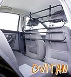OVITAN Hundegitter fürs Auto 6 Streben universal zur Befestigung an den Kopfstützen der Vordersitze – für alle Automarken geeignet – Modell: V06 - 2