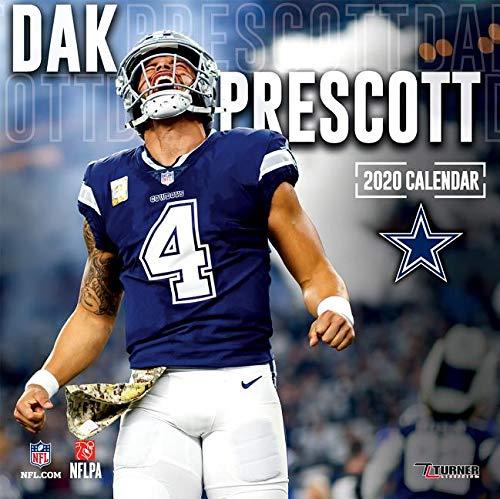 official photos bf312 8658e Dallas Cowboys Dak Prescott 2020 Calendar