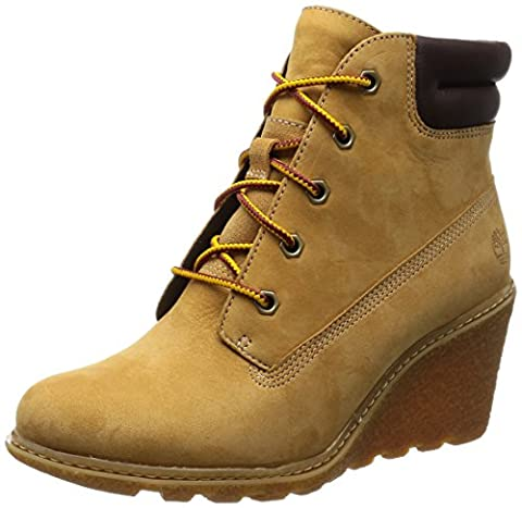 Timberland Amston 6 Inches, Women's Ankle Boots, Brown (Wheat), 4 UK (37 EU)