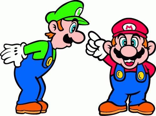Super Mario Cartoon Hochwertigen Auto-Autoaufkleber 12 x 10 cm