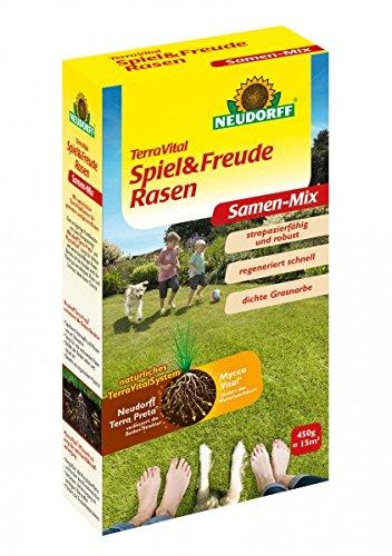 NEUDORFF - TerraVital Spiel & Freude Rasen - 450 g