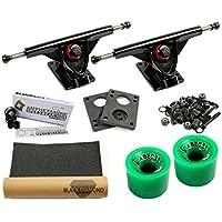 Amok Downhill 180black Pro Longboard Set
