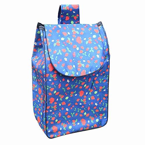 Warenkorb Taschen/Trolley Ersatztasche Oxford Cloth wasserdichte Aufbewahrungstasche 40L -