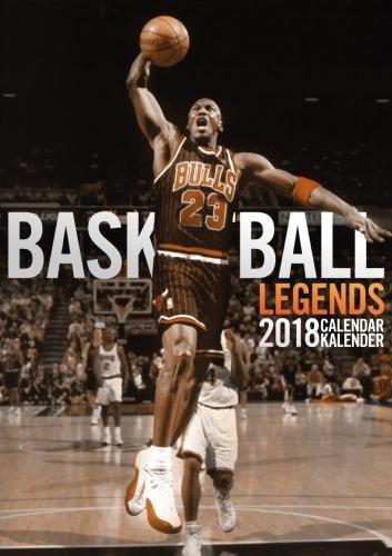 Basketball Legends 2018 Calendar