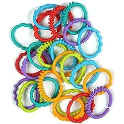 Bright Starts 8664 Anneaux Multicolores Fun Links