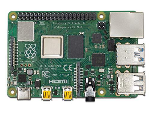 Raspberry Pi 4 Modell B 1GB ARM-Cortex-A72 4X 1,50GHz, 1GB RAM, WLAN-AC, Bluetooth 5, LAN, 4X USB, 2X Micro-HDMI