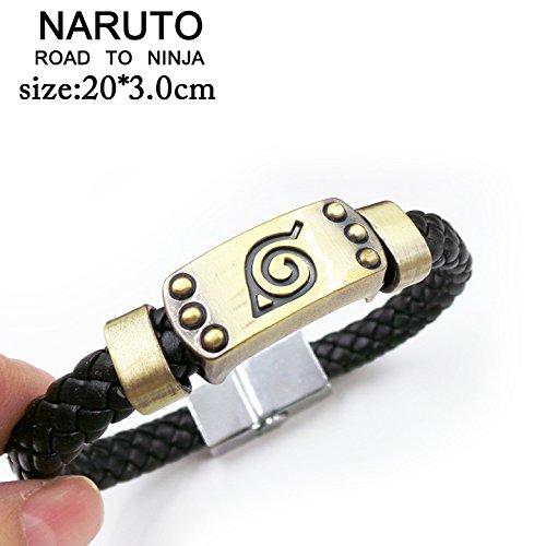 SUNKEE Naruto Cosplay Road To Ninja Polsino Braccialetto Figura Del Giocattolo Cosplay (Naruto)