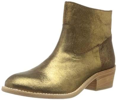 Bensimon Western, Boots femme - Marron (Marron Métallisé 721), 38 EU