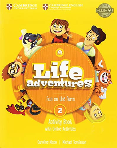 Life Adventures Level 2 Activity Book with Home Booklet and Online Activities por Caroline Nixon
