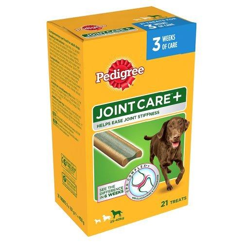 Pedigree GelenkAktiv plus Multipack große Hunde -40 kg (3x7 Stück), 1er Pack (1 x 453 g)