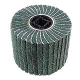 Fenteer Hochwertige Schleifrad Vlies-Gewebe, geeignet für Manifold, Aluminium, Edelstahl, Chrom usw - 120#