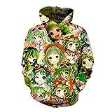 RCFRGV The Best Chorus Comic Hoodies Gumi Girls Pullovers Anime Fans Streetwear Funny Cute Tops Jacket