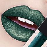 CICIYONER Damen Metall Lippenstift Lip Gloss Liquid Lippe Kosmetik, 24 Farben (02 #)