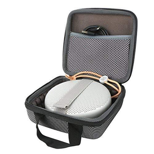 co2CREA Veranstalter Hart Reise Lagerung Tragen Taschen Hülle für B&O PLAY by Bang & Olufsen BeoPlay A1 Portable Wireless Bluetooth Lautsprecher