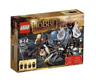 LEGO 79001 Señor de los Anillos - El Hobbit 2: Huyendo de las arañas Mirkwood de LEGO