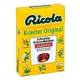 Ricola ohne Zucker Box Kräuter Bonbons 50 g